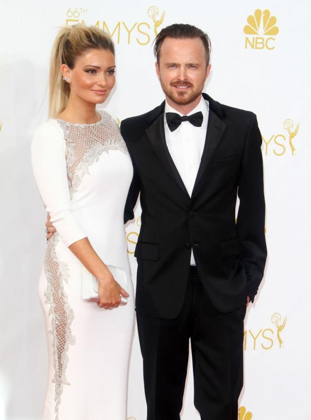 Ason Paul and Lauren Parkesian Emmys Photo