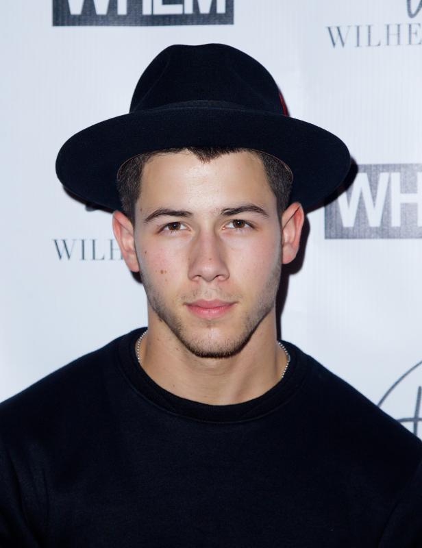 Nick Jonas at New York Fashion Week