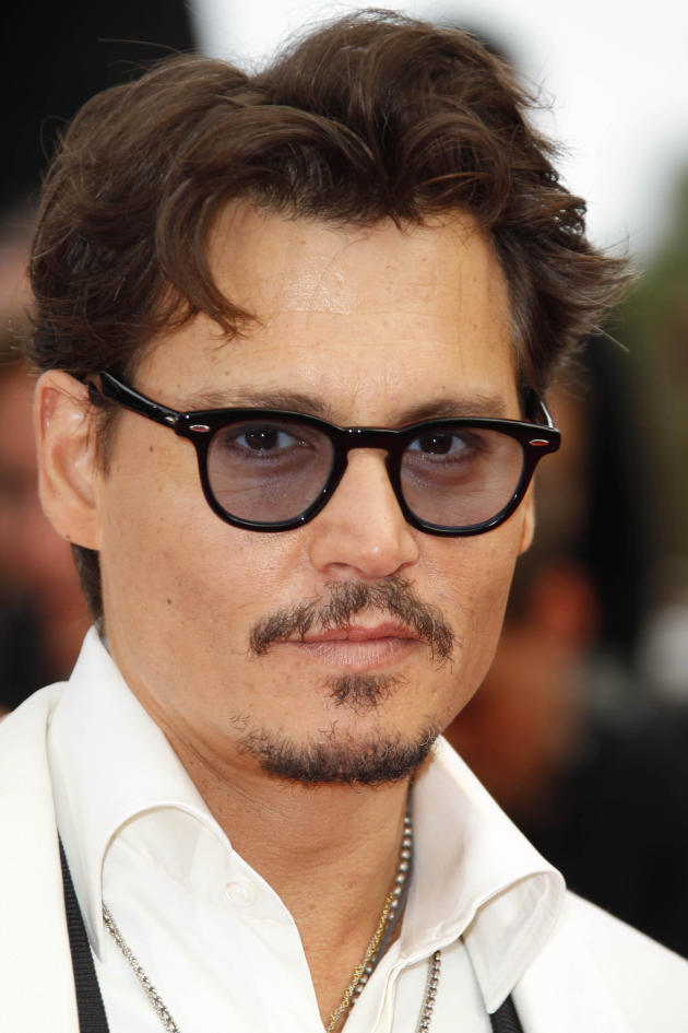 Johnny Depp in Cannes