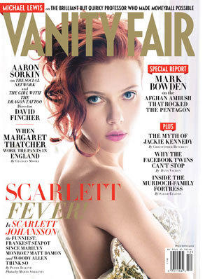 Scarlett Johansson Vanity Fair Cover