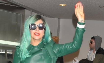 The Green Monster: Lady Gaga Invades Japan