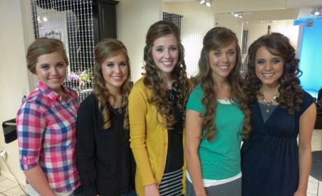 Jessa, Joy, Jill, Jana and Jinger
