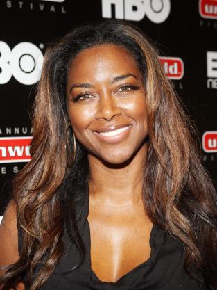 Kenya Moore Close Up Photo