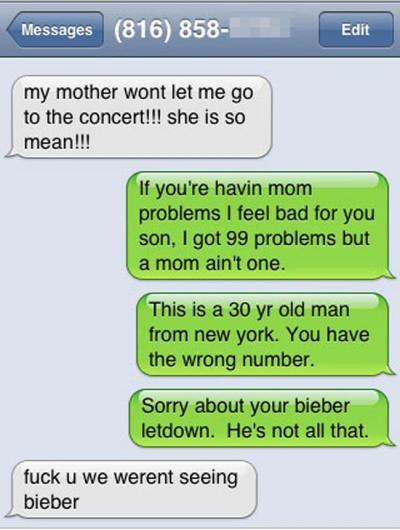 Bieber Text 1