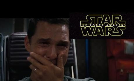 Matthew McConaughey Cries Over Star Wars Trailer