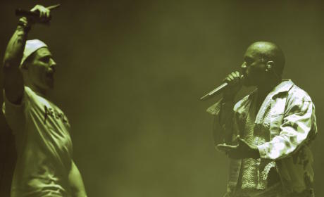 Kanye West Interrupted on Stage by Concert Crasher