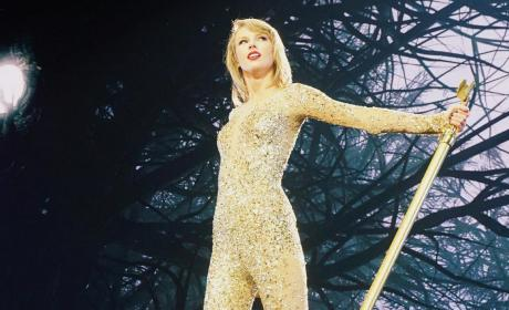 Taylor Swift in Gold