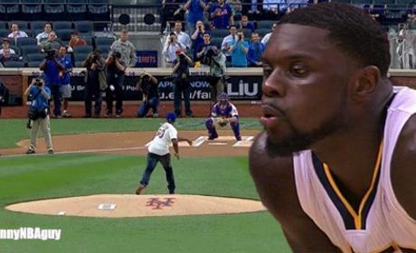 Lance Stephenson Blows on 50 Cent