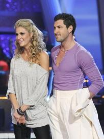 Maksim and Erin Andrews