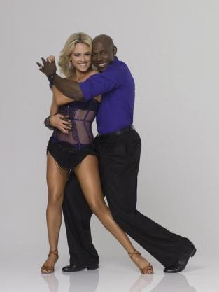 Donald Driver and Peta Murgatroyd