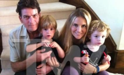 Charlie Sheen and Brooke Mueller: One Harmonious Family?
