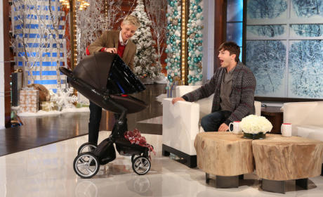 Ashton Kutcher Gushes Over Baby Daughter, Mila Kunis as a Mother