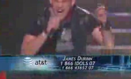 James Durbin: On Fire!