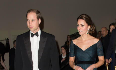 Kate Middleton and Prince William at NYU