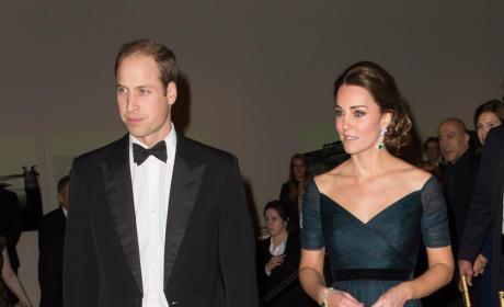 Kate Middleton and Prince William at NYU