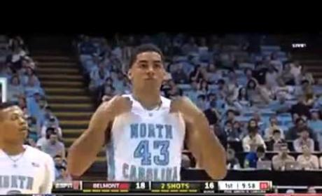 "Fan Distracts UNC Foul Shooter with ""Wrecking Ball"" Refrain"