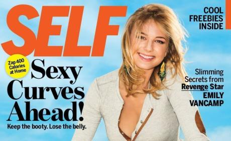 Emily VanCamp Self Cover