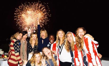 Taylor Swift Squad Photo