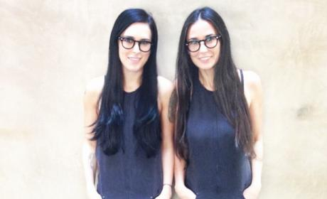 Rumer Willis and Demi Moore Photo