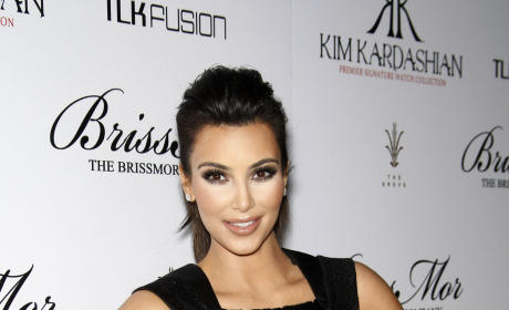 Kim Kardashian Flaunts Breasts, Hates on Cellulite