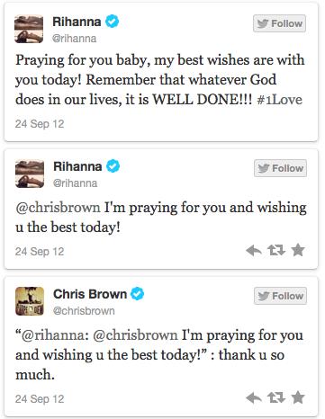 3 Rihanna Tweets