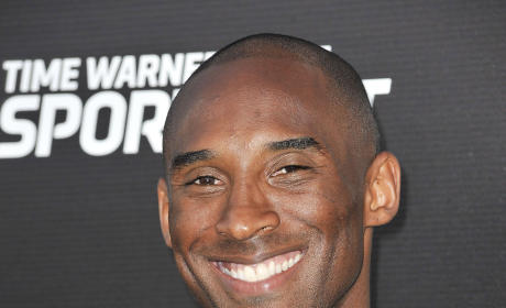 Kobe Bryant on the Red Carpet