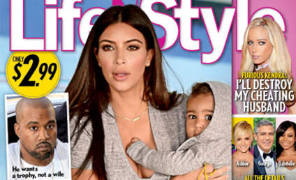Kim Kardashian: Pregnant AND Dumped... According to Hilarious Tabloid Cover