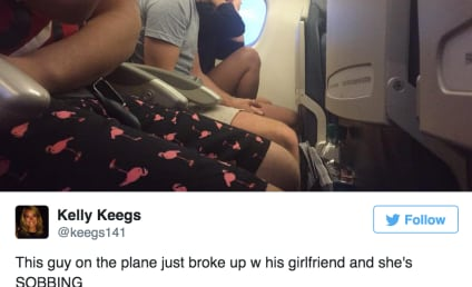 Passenger Live Tweets Greatest #PlaneBreakup of All-Time