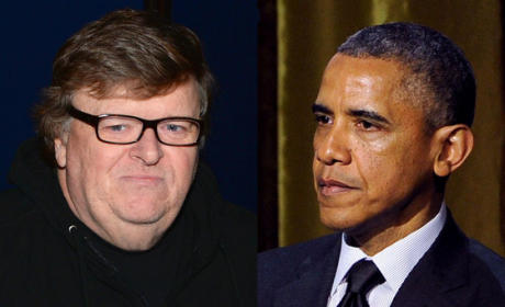 Michael Moore, Barack Obama