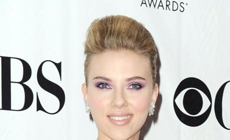 Scarlett Johansson Supports ... Something