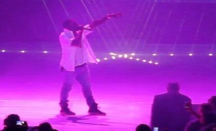Kanye West Performs in Atlantic City, Serenades Kim Kardashian