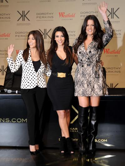 Kardashians in the UK