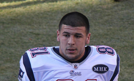 Aaron Hernandez: Sued For Shooting Man in the FACE