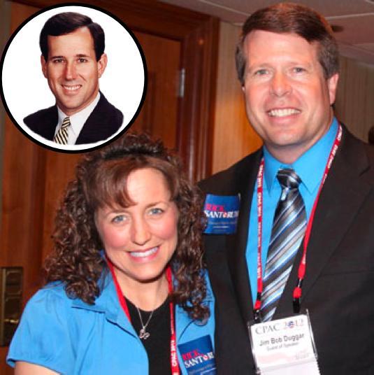 Duggar Family, Santorum