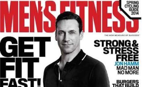Jon Hamm Men's Fitness Cover