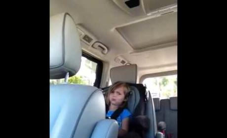 Little Girl is CRUSHED That Adam Levine is Married