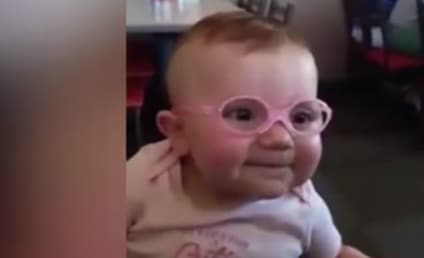Baby Wears Glasses, Sees Parents for First Time: Prepare to Melt!