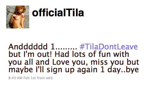 Tila Tweet
