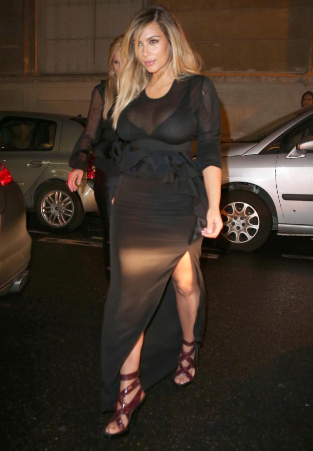 Kim Kardashian in France