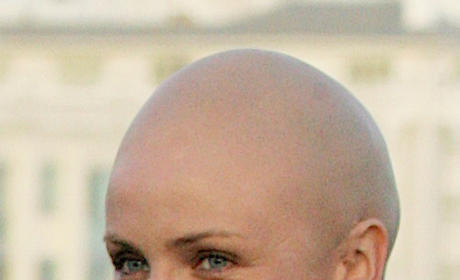 Cameron Diaz Bald