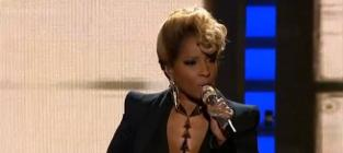"Mary J. Blige Asks ""Why"" on American Idol Results Show"