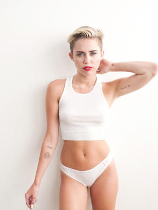 Miley Cyrus for Terry Richardson