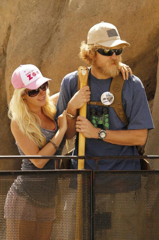 Heidi and Spencer at the Zoo