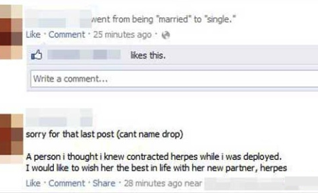 13 Most Awkward Facebook Breakups: When the Drama Goes Public ...