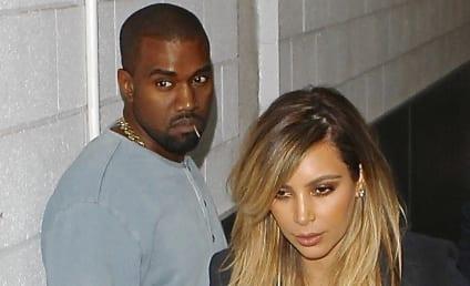 Kim Kardashian and Kanye West Attend Parenting Klass