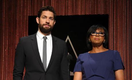 John Krasinski & Cheryl Boone Isaac Announce 88th Annual Oscars Nominations
