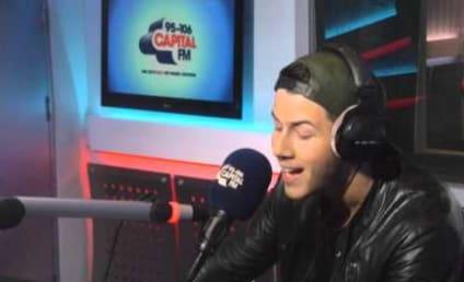 Nick Jonas Covers Ariana Grande: Watch Him Whisper!