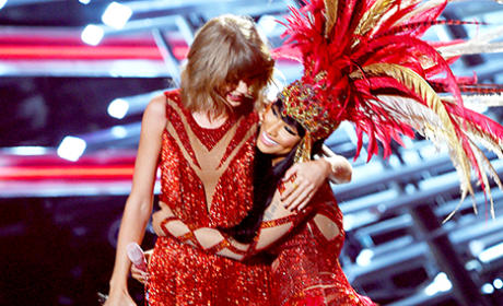 Nicki Minaj and Taylor Swift Duet at VMAs, Put Feud to Rest