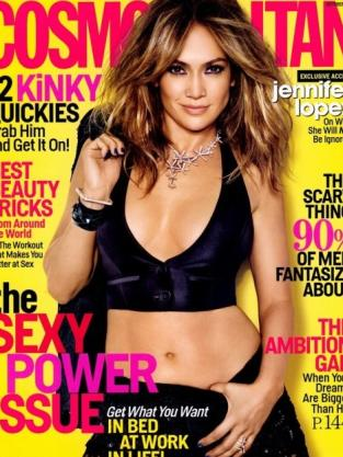 Jennifer Lopez Cosmo Cover