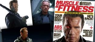 Arnold Schwarzenegger Previews Terminator: Genisys in Muscle & Fitness